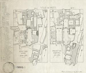 Une place urbaine au XVIIIe siècle : la place d'armes de Metz
